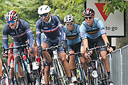 Samuel Dumoulin and Pierre Luc Perichon (French) during the Road Cycling European Championships Glasgow 2018, in Glasgow City Centre and metropolitan areas Great Britain, Day 11, on August 12, 2018 - Photo Laurent Lairys / ProSportsImages / DPPI
