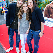 NLD/Amsterdam/20160717- Premiere Huisdiergeheimen, Javier Guzman en ..................