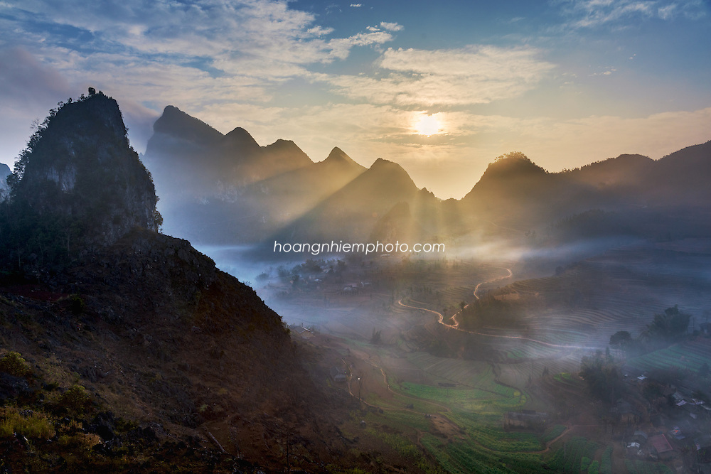 Vietnam Images-landscape-phong canh-Ha Giang