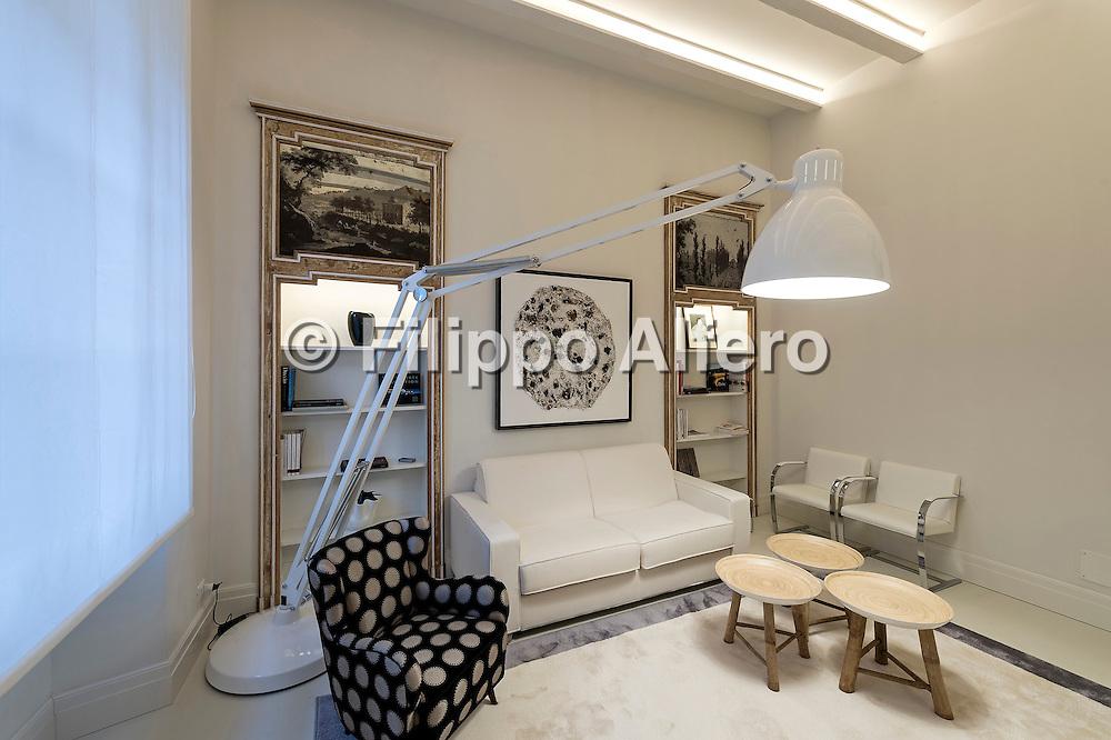 © Filippo Alfero<br /> VEM Architettura, appartamento in Via Borgonuovo 26 a Milano<br /> Milano, 29/06/2016