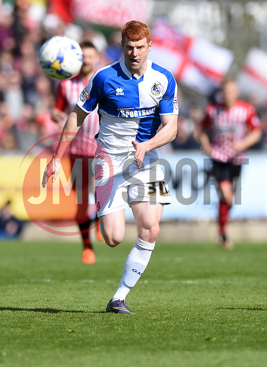 Rory Gaffney of Bristol Rovers  - Mandatory by-line: Joe Meredith/JMP - 23/04/2016 - FOOTBALL - Memorial Stadium - Bristol, England - Bristol Rovers v Exeter City - Sky Bet League Two