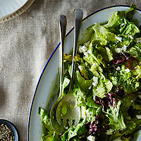 Salad with Dill Vinaigrette
