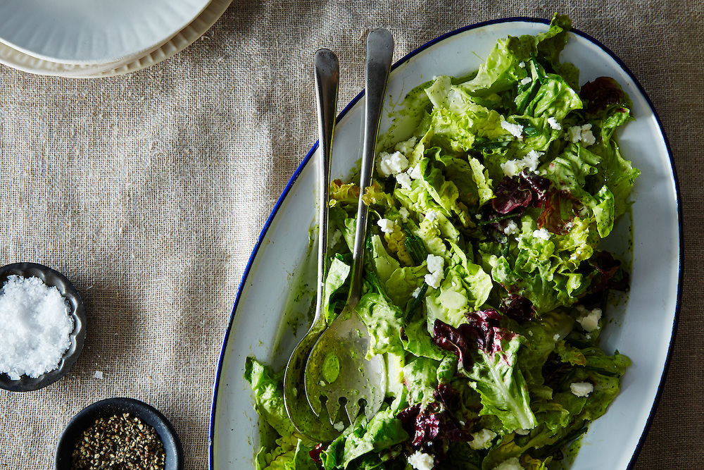 Salad with Dill Vinaigrette