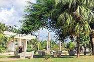 Park in Santa Cruz de los Pinos, Pinar del Rio, Cuba.