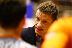 20141029 BEL: Eredivisie, Callant Antwerpen - Volley Behappy2 Asse - Lennik: Antwerpen<br />Johan Devoghel head coach of Volley behappy2 Asse - Lennik<br />©2014-FotoHoogendoorn.nl / Pim Waslander