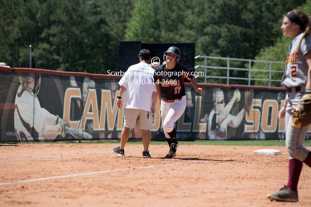 BUIES CREEK, NC - April 24th, 2016 Campbell University Softball vs Winthrop