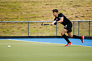 Dominic Newman of the Black Sticks at the final game of the Black Sticks v Canada Test Matches 21 October 2018. Copyright photo: Alisha Lovrich / www.photosport.nz