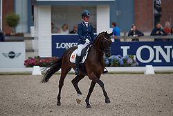 Heuitink Joyce, NED, Gaudi Vita<br /> Longines FEI/WBFSH World Breeding Dressage Championships for Young Horses - Ermelo 2017<br /> © Hippo Foto - Dirk Caremans<br /> 05/08/2017