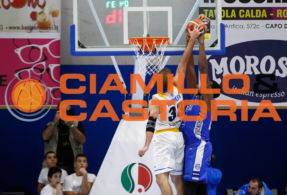 Denis Ikovlev<br /> Betaland Orlandina Capo d Orlando - Happy Casa Brindisi<br /> LegaBasket Serie A 2017/2018<br /> Capo d Orlando, 16/12/2017<br /> Foto Ciamillo-Castoria