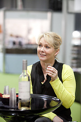 © London News Pictures. 12/04/2012. Gravesend, Kent. Former Bucks Fizz singer Cheryl Baker at the opening day of the BBC Good Food Show Spring at Glow, Bluewater, Kent.  Photo credit should read Manu Palomeque/LNP.