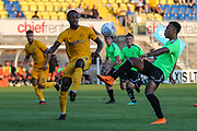 Forest Green Rovers Tahvon Campbell(14) controls the ball during the Pre-Season Friendly match between Torquay United and Forest Green Rovers at Plainmoor, Torquay, England on 10 July 2018. Picture by Shane Healey.