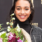 NLD/Utrecht/20180928 - Onthulling Gouden Tegels NFF, Nora El Koussour