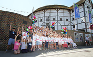 West End Stars Launch Kids Week 2013 with Show Choir at Shakespeare's Globe