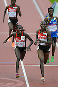 Kenyan Runners at the finish line during the Commonweatlh Games in Glasgow 2014