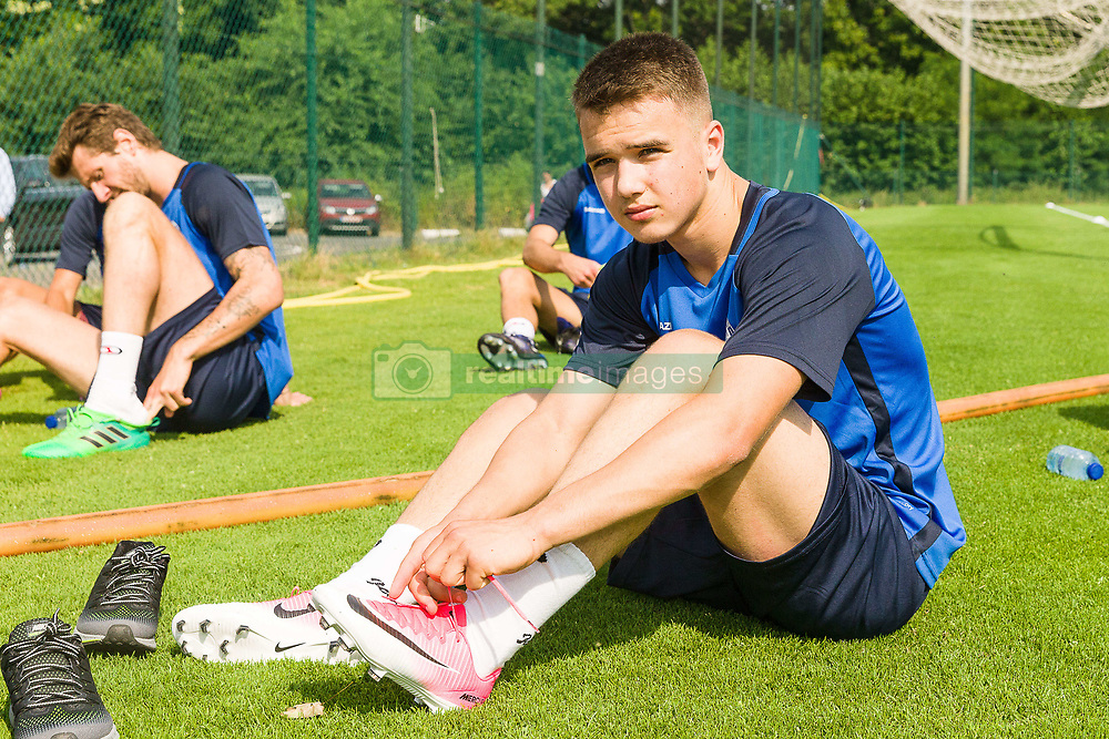 June 22, 2017 - Gent, BELGIUM - Gent's new player Nicolas Raskin pictured during the first training session for the new 2017-2018 season of Jupiler Pro League team KAA Gent, in Gent, Thursday 22 June 2017. BELGA PHOTO JAMES ARTHUR GEKIERE (Credit Image: © James Arthur Gekiere/Belga via ZUMA Press)