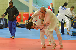 Behind the scenes, Sandrine Aurieres-Martinet, -52kg, 2016 Visually Impaired Judo Grandprix, British Judo, Birmingham, England