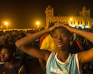Burkino Faso fans dejection at losing Africa Cup of Nations