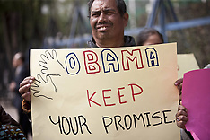 JAN 21 2013 Mesoamerican Migrant Movement Protest