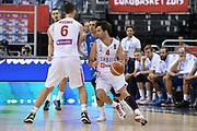DESCRIZIONE : Berlino Berlin Eurobasket 2015 Group B Italy Serbia<br /> GIOCATORE :  Milos Teodosic<br /> CATEGORIA : Controcampo palleggio blocco<br /> SQUADRA :Serbia<br /> EVENTO : Eurobasket 2015 Group B <br /> GARA : Italy Serbia<br /> DATA : 10/09/2015 <br /> SPORT : Pallacanestro <br /> AUTORE : Agenzia Ciamillo-Castoria/I.Mancini <br /> Galleria : Eurobasket 2015 <br /> Fotonotizia : Berlino Berlin Eurobasket 2015 Group B Italy Serbia