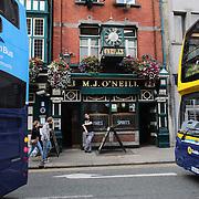 M.J. O'Neill's Pub, Dublin, Ireland. Photo Tim Clayton
