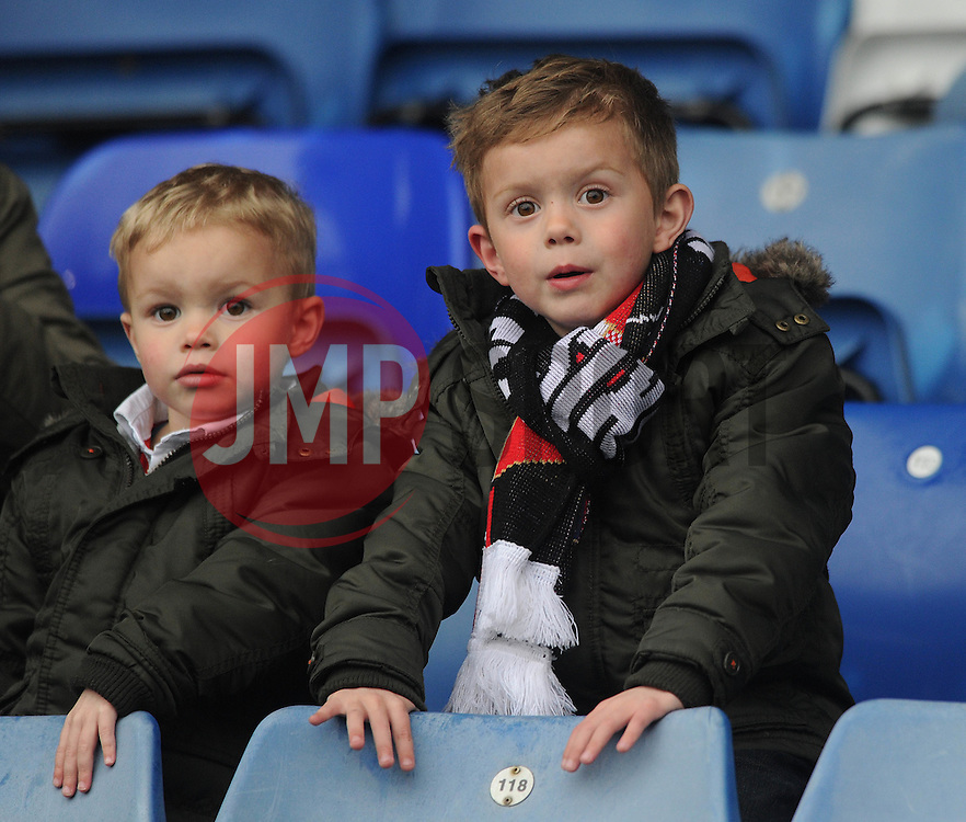 Bristol City fan - Photo mandatory by-line: Dougie Allward/JMP - Mobile: 07966 386802 - 03/04/2015 - SPORT - Football - Oldham - Boundary Park - Bristol City v Oldham Athletic - Sky Bet League One