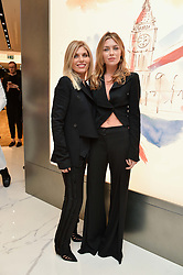ABBEY CLANCY and her mother KAREN SULLIVAN at the launch of the new Giusepe Zanotti store in Conduit Street, London on 26th October 2016.
