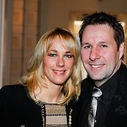 NLD/Amsterdam/20130327 - Inloop Schaatsgala 2012, Marianne Timmer en partner Henk Timmer