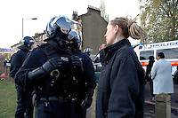 Riot police evicting 21 houses of squatters in St. Agnes Place Kennington after 30 years of squatting the street.