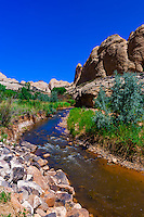 Sulphur Creek, Capitol Reef National Park, Utah USA