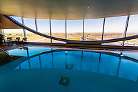 Indoor swimming pool, Westin Denver International Airport Hotel, Denver, Colorado USA.