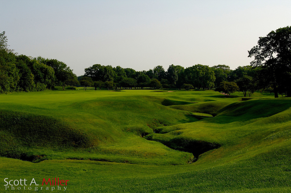 Lake Bluff, Ill.:  June 28, 2006 - No. 4 at the Shoreacres Country Club in Lake Bluff, Ill....©2006 Scott A. Miller