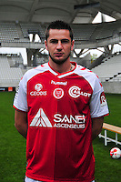 Valentin Roberge - 21.10.2014 - Photo officielle Reims - Ligue 1 2014/2015<br /> Photo : Philippe Le Brech / Icon Sport