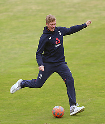 England's Keaton Jennings during a nets session at Headingley, Leeds. PRESS ASSOCIATION Photo. Picture date: Wednesday May 30, 2018. See PA story CRICKET England. Photo credit should read: Tim Goode/PA Wire. RESTRICTIONS: Editorial use only. No commercial use without prior written consent of the ECB. Still image use only. No moving images to emulate broadcast. No removing or obscuring of sponsor logos.
