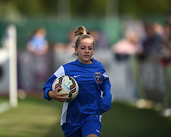 Bristol Academy ball-girl at Stoke Gifford Stadium - Mandatory by-line: Paul Knight/JMP - 25/07/2015 - SPORT - FOOTBALL - Bristol, England - Stoke Gifford Stadium - Bristol Academy Women v Sunderland AFC Ladies - FA Women's Super League