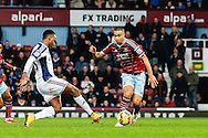 Saido Berahino of West Bromwich Albion scores his team's first goal against West Ham United to make it 1-1 during the Barclays Premier League match at the Boleyn Ground, London<br /> Picture by David Horn/Focus Images Ltd +44 7545 970036<br /> 01/01/2015