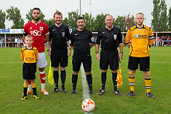 Mascot Photo - Photo mandatory by-line: Dougie Allward/JMP - Mobile: 07966 386802 - 05/07/2015 - SPORT - Football - Bristol - Brislington Stadium - Pre-Season Friendly