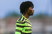 Dan Ogunleye during the Pre-Season Friendly match between Cirencester Academy and Forest Green Rovers at Cotswold Academy, Cirencester, United Kingdom on 30 July 2019.