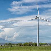 Nicaragua Wind Turbines (Format 4 x 1)