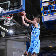 Delaware 87ers Forward Joonas Caven (24) drives towards the basket in the first half of a NBA D-league regular season basketball game between the Delaware 87ers and the Texas Legends (Dallas Mavericks) Sunday, Jan. 25, 2015 at The Bob Carpenter Sports Convocation Center in Newark, DEL
