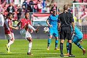 UTRECHT - 21-08-2016, FC Utrecht - AZ, Stadion Galgenwaard, 1-2, FC Utrecht speler Richairo Zivkovic , debuut.