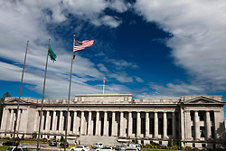 Temple of Justice building, home of the Washington State Supreme Court, state capitol campus complex, Olympia, Washington, United States of America
