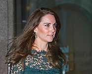 KATE Middleton Attends Portrait Gallery Gala, London2
