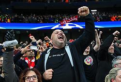Liverpool fans celebrate - Mandatory by-line: Matt McNulty/JMP - 10/04/2018 - FOOTBALL - Etihad Stadium - Manchester, England - Manchester City v Liverpool - UEFA Champions League Quarter Final Second Leg