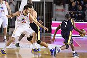 DESCRIZIONE : Campionato 2013/14 Acea Virtus Roma - Sutor Montegranaro<br /> GIOCATORE : Josh Mayo Riccardo Moraschini<br /> CATEGORIA : Controcampo Palleggio Blocco<br /> SQUADRA : Sutor Montegranaro<br /> EVENTO : LegaBasket Serie A Beko 2013/2014<br /> GARA : Acea Virtus Roma - Sutor Montegranaro<br /> DATA : 18/01/2014<br /> SPORT : Pallacanestro <br /> AUTORE : Agenzia Ciamillo-Castoria / GiulioCiamillo<br /> Galleria : LegaBasket Serie A Beko 2013/2014<br /> Fotonotizia : Campionato 2013/14 Acea Virtus Roma - Sutor Montegranaro<br /> Predefinita :