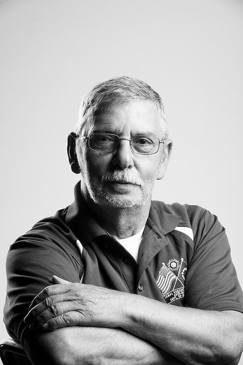 A. Wallet<br /> Army<br /> E-7<br /> Communication Chief<br /> Sept. 1960 - June 1985<br /> Vietnam<br /> <br /> Veterans Portrait Project<br /> St. Louis, MO