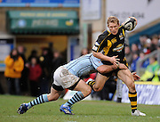 Wycombe, GREAT BRITAIN, Josh LEWSEY, during the Guinness Premiership match, London Wasps vs Bristol Rugby, played at the Adams Park Stadium, on Sat. 23rd Feb 2008.  [Mandatory Credit, Peter Spurrier/Intersport-images]