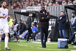 February 23, 2019 - Amiens, France - PATRICK VIEIRA  (Credit Image: © Panoramic via ZUMA Press)