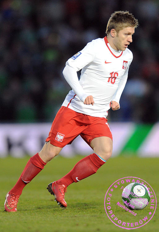 JAKUB BLASZCZYKOWSKI (POLAND) DURING QUALIFICATION WORLD CAP SOUTH AFRICA 2010 SOCCER MATCH BETWEEN POLAND AND NORTHERN IRELAND IN BELFAST , NORTHERN IRELAND...NORTHERN IRELAND, BELFAST , MARCH 28, 2009..( PHOTO BY ADAM NURKIEWICZ / MEDIASPORT )..PICTURE ALSO AVAIBLE IN RAW OR TIFF FORMAT ON SPECIAL REQUEST.