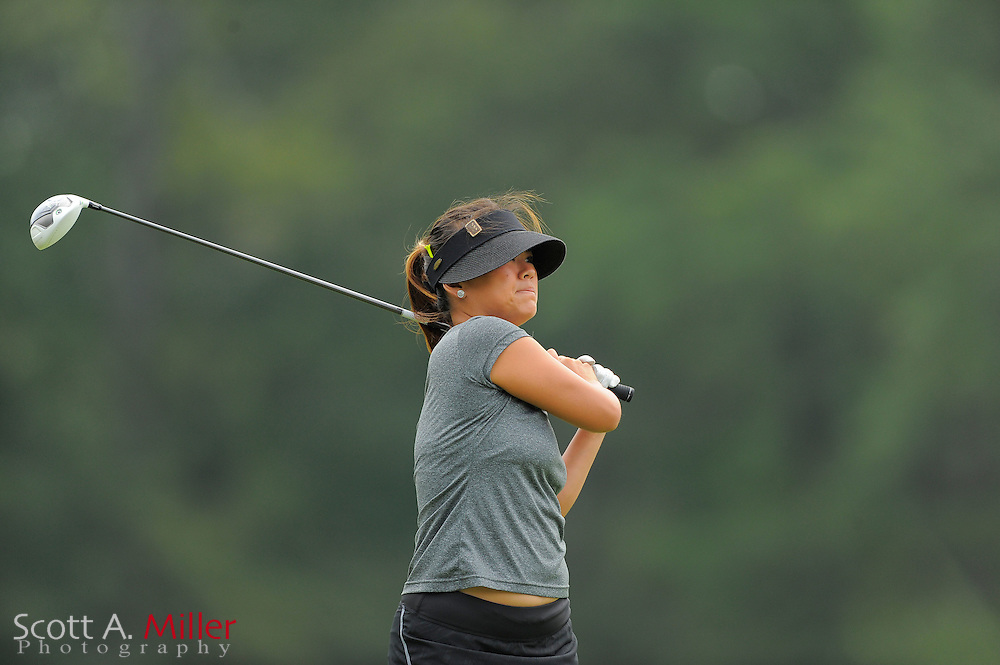 Hannah Jun during the Symetra Tour's Eagle Classic at the Richmond Country Club on August 18, 2012 in Richmond, Va...©2012 Scott A. Miller