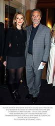 Actress SHARON MAUGHAN and her husband actor TREVOR EVE, at a reception in London on 14th October 2003.PNL 283